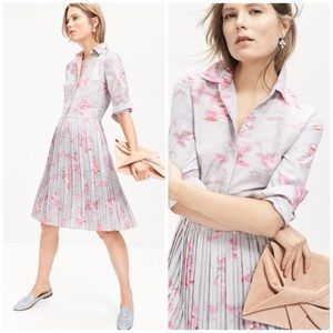 Banana Republic Ikat Pleated Shirtdress